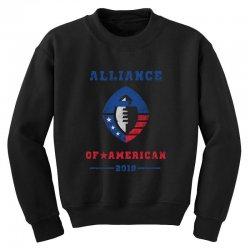 alliance of american 2019 Youth Sweatshirt | Artistshot