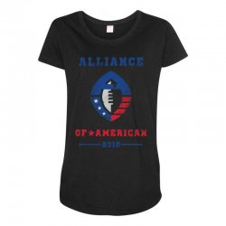 alliance of american 2019 Maternity Scoop Neck T-shirt | Artistshot