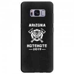 arizona hotshots 2019 white Samsung Galaxy S8 Plus Case | Artistshot