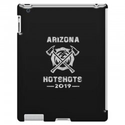 arizona hotshots 2019 white iPad 3 and 4 Case | Artistshot