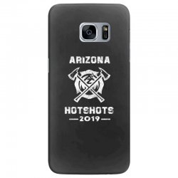arizona hotshots 2019 white Samsung Galaxy S7 Edge Case | Artistshot