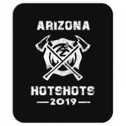 arizona hotshots 2019 white Mousepad | Artistshot