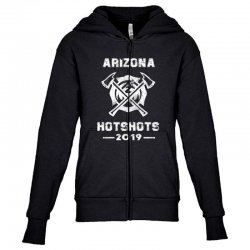 arizona hotshots 2019 white Youth Zipper Hoodie | Artistshot