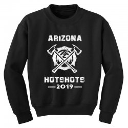 arizona hotshots 2019 white Youth Sweatshirt | Artistshot