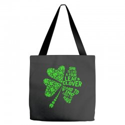 clover green Tote Bags | Artistshot