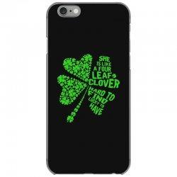 clover green iPhone 6/6s Case | Artistshot