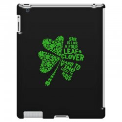 clover green iPad 3 and 4 Case | Artistshot
