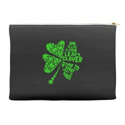 clover green Accessory Pouches | Artistshot