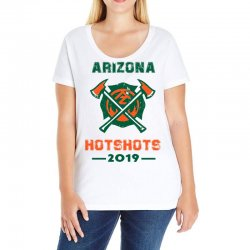 arizona hotshots 2019 Ladies Curvy T-Shirt | Artistshot