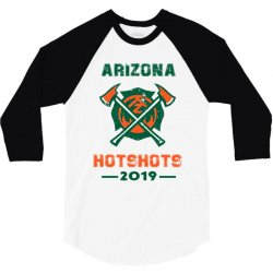 arizona hotshots 2019 3/4 Sleeve Shirt | Artistshot