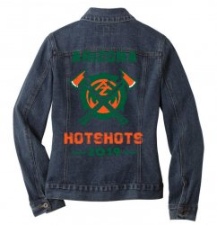 arizona hotshots 2019 Ladies Denim Jacket | Artistshot