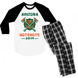 arizona hotshots 2019 Men's 3/4 Sleeve Pajama Set | Artistshot