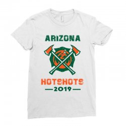 arizona hotshots 2019 Ladies Fitted T-Shirt | Artistshot