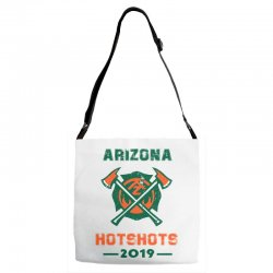 arizona hotshots 2019 Adjustable Strap Totes | Artistshot
