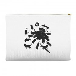 cat ink Accessory Pouches | Artistshot