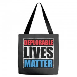 deplorable lives matter Tote Bags | Artistshot