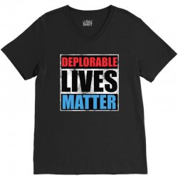 deplorable lives matter V-Neck Tee | Artistshot