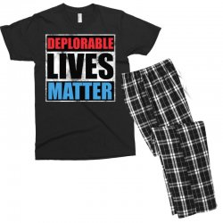 deplorable lives matter Men's T-shirt Pajama Set | Artistshot