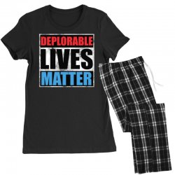 deplorable lives matter Women's Pajamas Set | Artistshot