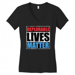 deplorable lives matter Women's V-Neck T-Shirt | Artistshot