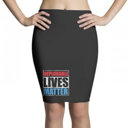 deplorable lives matter Pencil Skirts | Artistshot