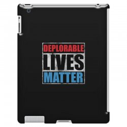 deplorable lives matter iPad 3 and 4 Case | Artistshot