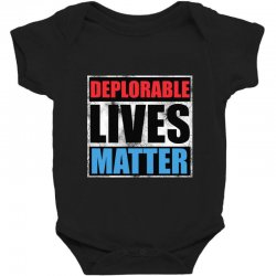 deplorable lives matter Baby Bodysuit | Artistshot
