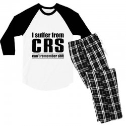 can't remember Men's 3/4 Sleeve Pajama Set | Artistshot