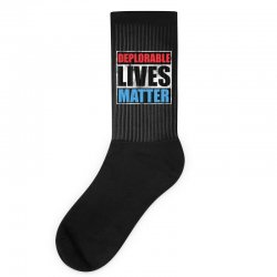 deplorable lives matter Socks | Artistshot