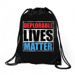 deplorable lives matter Drawstring Bags | Artistshot