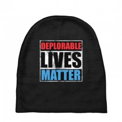 deplorable lives matter Baby Beanies | Artistshot
