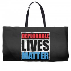 deplorable lives matter Weekender Totes | Artistshot