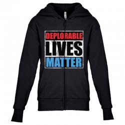 deplorable lives matter Youth Zipper Hoodie | Artistshot
