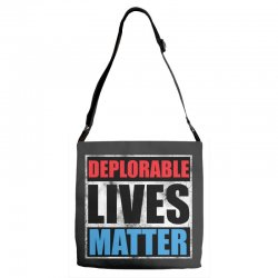 deplorable lives matter Adjustable Strap Totes | Artistshot