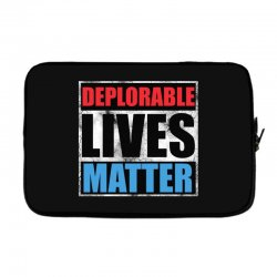 deplorable lives matter Laptop sleeve | Artistshot