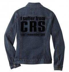 can't remember Ladies Denim Jacket | Artistshot