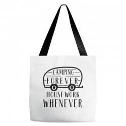 camping forever Tote Bags | Artistshot