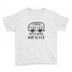 camping forever Youth Tee | Artistshot