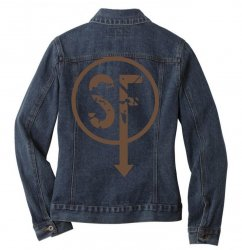 brownie sf Ladies Denim Jacket | Artistshot