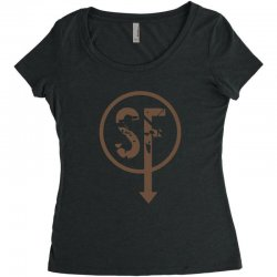 brownie sf Women's Triblend Scoop T-shirt | Artistshot