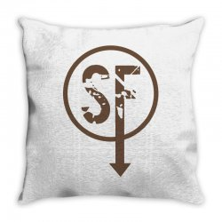 brownie sf Throw Pillow | Artistshot