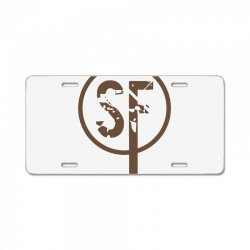 brownie sf License Plate | Artistshot