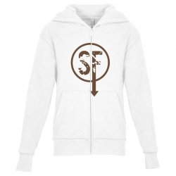 brownie sf Youth Zipper Hoodie | Artistshot