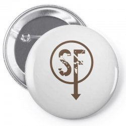 brownie sf Pin-back button | Artistshot