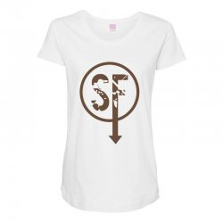 brownie sf Maternity Scoop Neck T-shirt | Artistshot