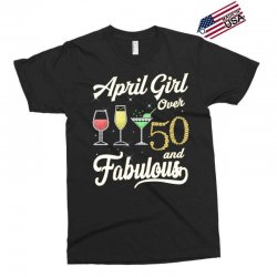 april girl over 50 & fabulous Exclusive T-shirt | Artistshot