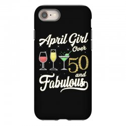 april girl over 50 & fabulous iPhone 8 Case | Artistshot