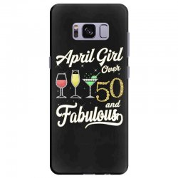 april girl over 50 & fabulous Samsung Galaxy S8 Plus Case | Artistshot