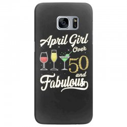 april girl over 50 & fabulous Samsung Galaxy S7 Edge Case | Artistshot
