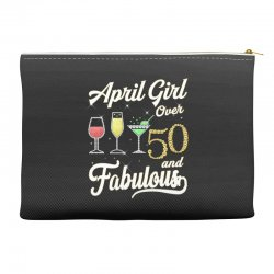 april girl over 50 & fabulous Accessory Pouches | Artistshot